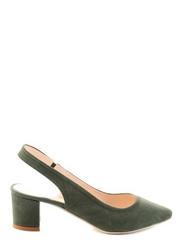 Bambi Topuklu Ayakkabı Yeşil